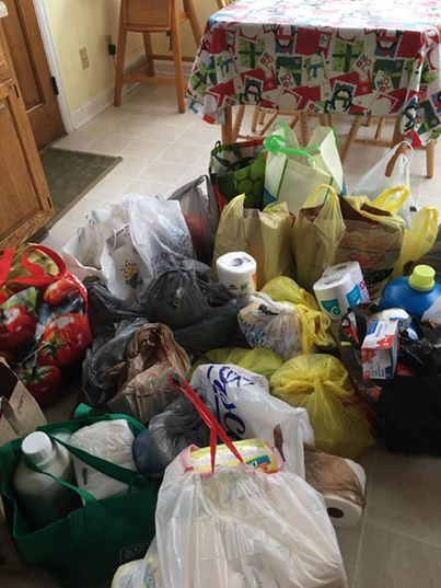 Donations from the Shrine Church of Our Lady of the Amricas